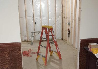 office bi-fold door install 2